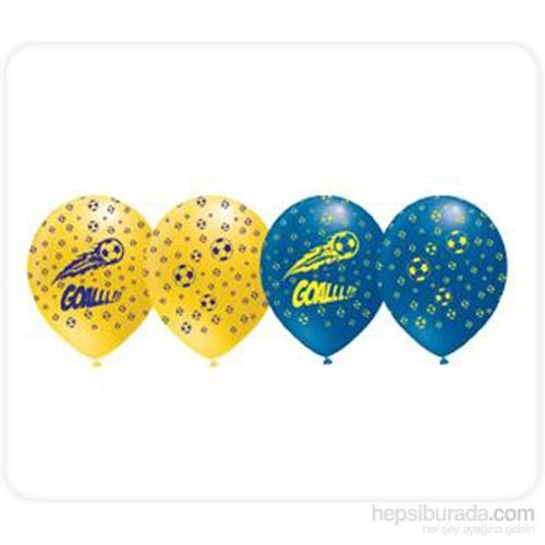 KullanAtMarket Fanatik Sarı-Lacivert Balon