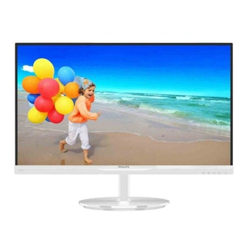 "Philips 224E5QSW/01 21.5"" 5ms (Analog+DVI) Full HD IPS Beyaz Led Monitör"