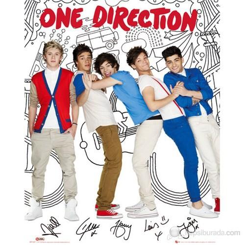 One Direction Skectch Portrait Mini Poster