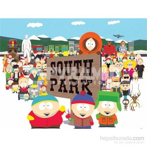 South Park Characters Mini Poster