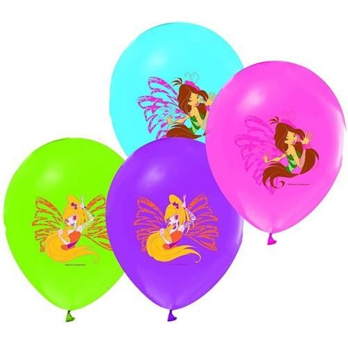 Pandoli 25 Li Winx Club Baskılı Renkli Latex Balon