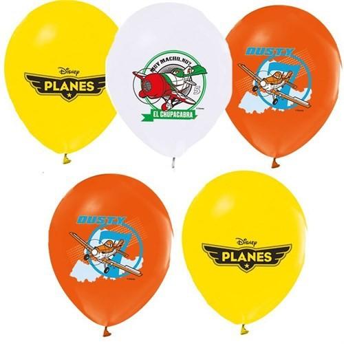 Pandoli 100 Lü Planes Baskılı Latex Renkli Balon
