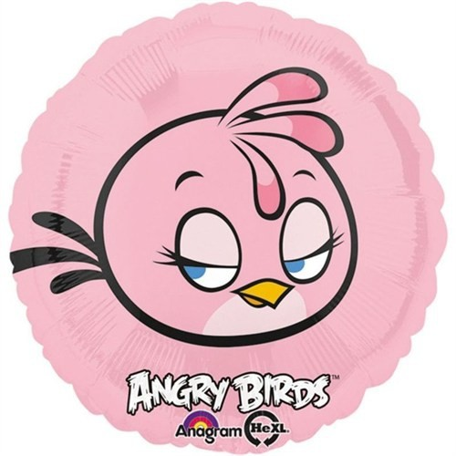 Pandoli 45 Cm Folyo Balon Angry Birds Pink Bird