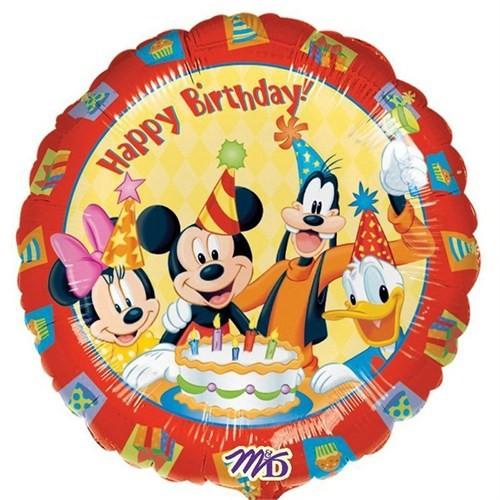 Pandoli 45 Cm Folyo Balon Mickey Ve Arkadaşları Birthday