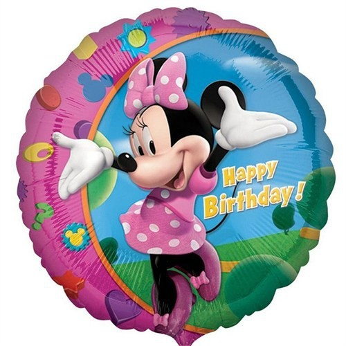 Pandoli 45 Cm Folyo Balon Minnie Birthday