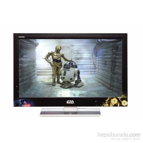Vestel STAR WARS 22FA7100 22' 56 Ekran Full HD 400 Hz. Smart Uydu Alıcılı LED TV