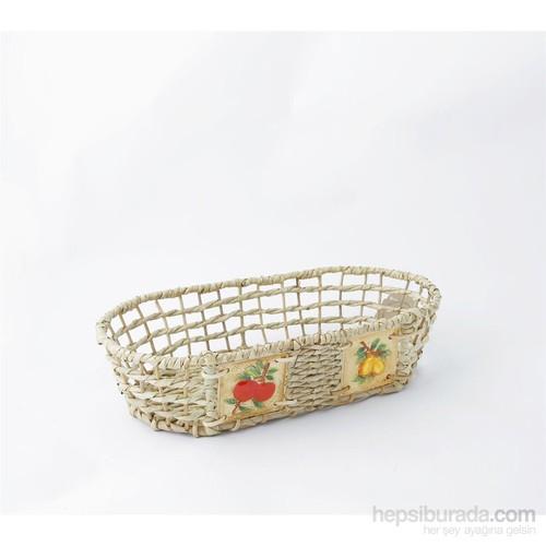 Natürel Oval Sepet, Meyve, Orta