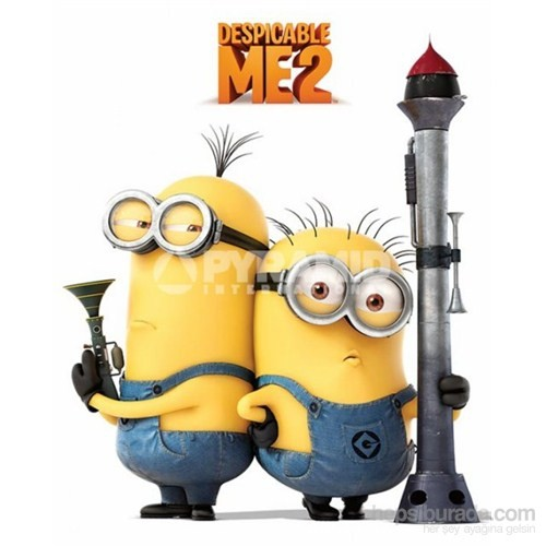 Despicable Me 2 - Armed Minions Mini Poster