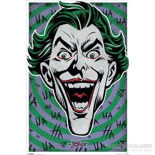 Maxi Poster The Joker Hahaha