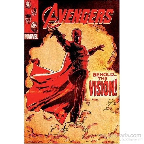 Maxi Poster Avengers Age Of Ultron Behold The Vision