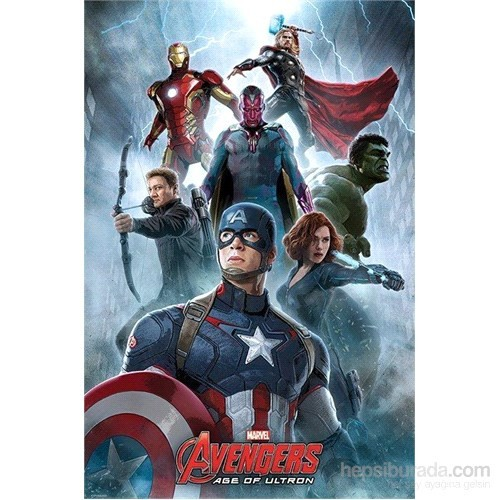 Maxi Poster Avengers Age Of Ultron Encounter