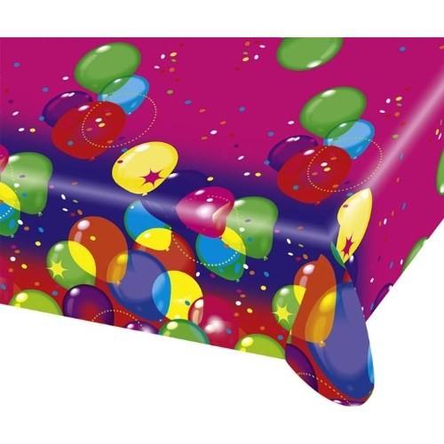 Parti Paketi Balonlar Masa Örtüsü