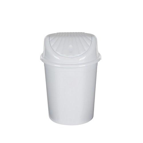 Modelüks 22 Lt İstiridye Çöp Kovası - Beyaz