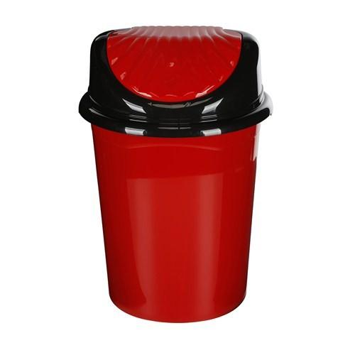 Modelüks 45 Lt İstiridye Çöp Kovası - Kırmızı