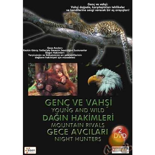 Young And wild Mountain Rıvals - Night Hunters (Genç ve Vahşi Dağın Hakimleri - Gece Avcıları (2 DVD ( DVD )