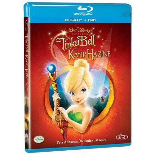 Tinker Bell Lost Treasure (Tinker Bell ve Kayıp Hazine) (Blu-Ray Disc + DVD)