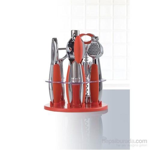 I Love Home Mutfak Seti Kırmızı