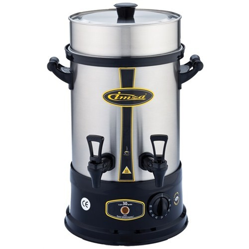 İmza İ-1030 4 lt 30 Bardak Paslanmaz Çelik Çay Makinası