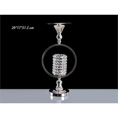 Lucky Art Gümüş Kristalli Çemberli Tilaytlık - Me010