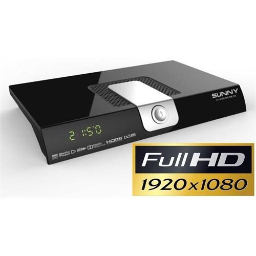 SUNNY AT-14700 UsbMedia Player PVR + FULL HD Uydu Alıcı