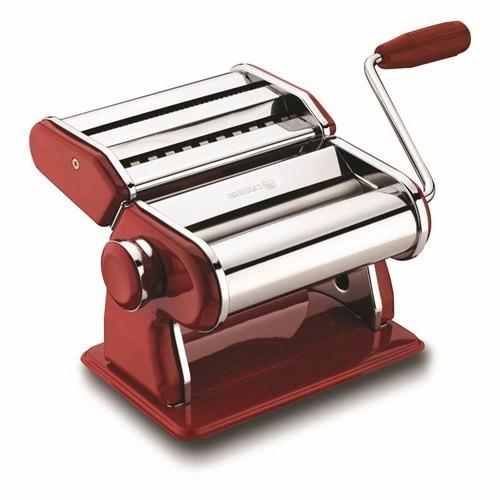 Korkmaz A629-02 Twista Retro Makarna Makinesi Kırmızı