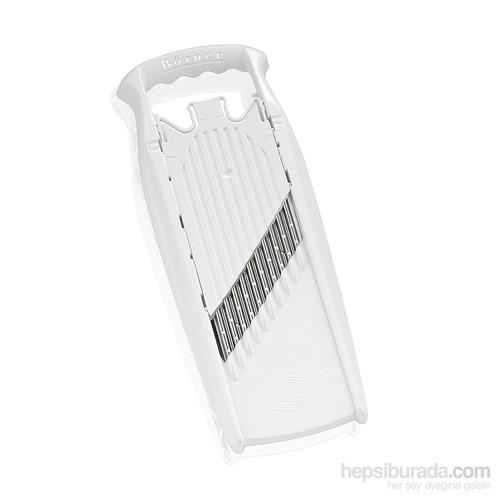 Börner Welle-Waffel Powerline Dekoratif Rende, Beyaz