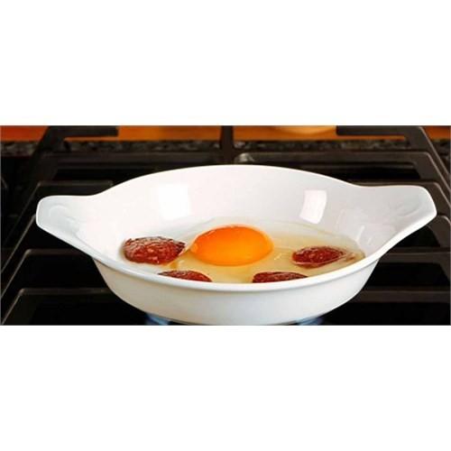 Porland 17 Cm Porselen Sahan Yumurta Tavası Mğz