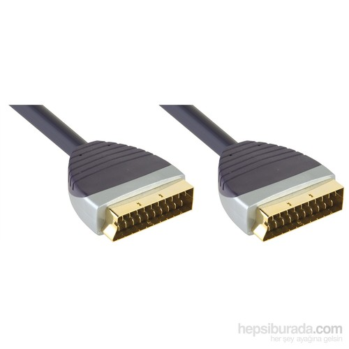 Bandridge Svl7395 Scart Kablo 5M