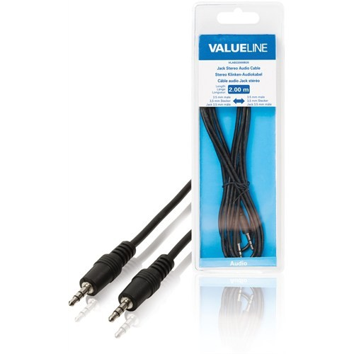 Valuline Vlab22000b20 3.5-3.5 Streo Jack 2Metre