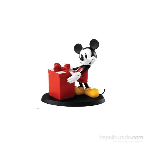 Surprise, Surprise! (Mickey Mouse Figurine With Lidded Gift Box)