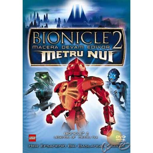 Bıonıcle 2: Legends Of Metro Nuı (Bıonıcle 2: Macera Devam Ediyor) ( DVD )
