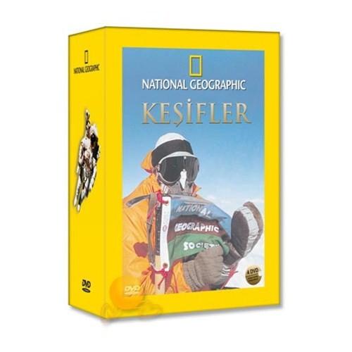 National Geographic: Keşifler Özel Set (4 DVD)