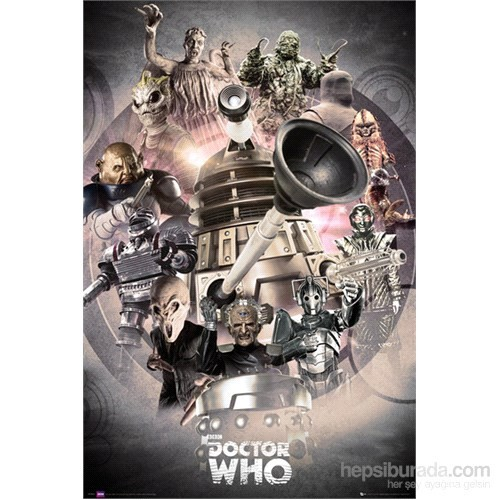 Doctor Who Enemies Maxi Poster