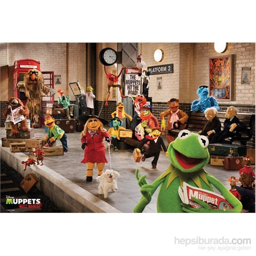 The Muppets Most Wanted Cast Maxi Poster