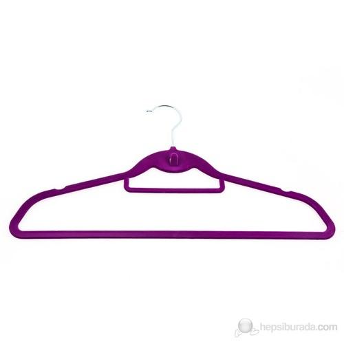 Atadan 4 Lü Kadife Elbise Askısı