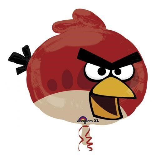 Parti Paketi Angry Birds Red Supershape Folyo Balon