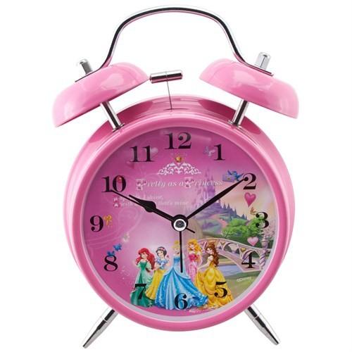Ykc Disney Prenses Alarmlı Ve Işıklı Masa Saati