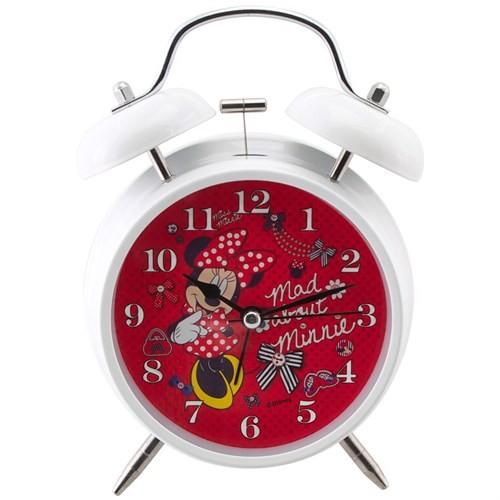 Ykc Minnie Mouse Alarmlı Ve Işıklı Masa Saati