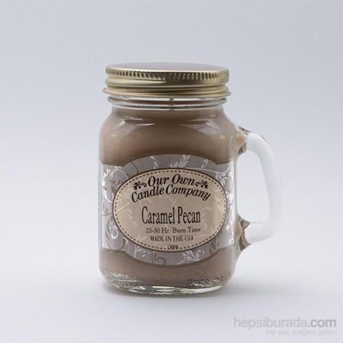 Caramel Pecan Küçük Kavanoz Mum