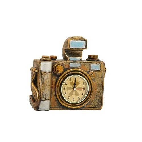 Fidex Home Nostalji Saat-Fotoğraf Makinesi