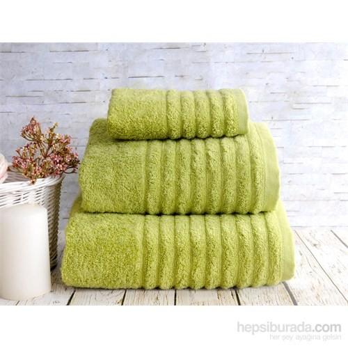 İrya Solid Havlu 85*150 Wella Yeşil