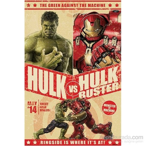 Maxi Poster Age Of Ultron Hulk Vs Hulkbuster