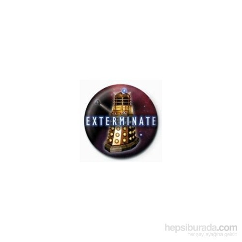 Rozet - Doctor Who - Exterminate Dalek