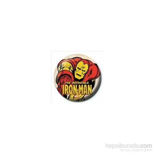 Rozet - Iron Man - Invincible