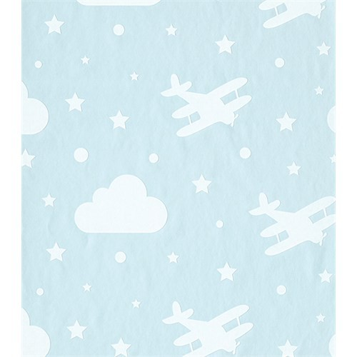Bien 4870 Bulut Uçak Desen Duvar Kağıdı
