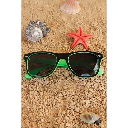 Morvizyon Clariss Marka Yeşil & Siyah Tasarım Unisex Güneş Gözlüğü Modeli