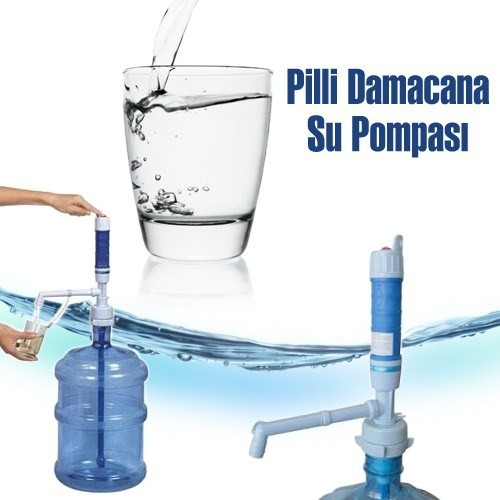 Bluezen Pilli Damacana Su Pompası