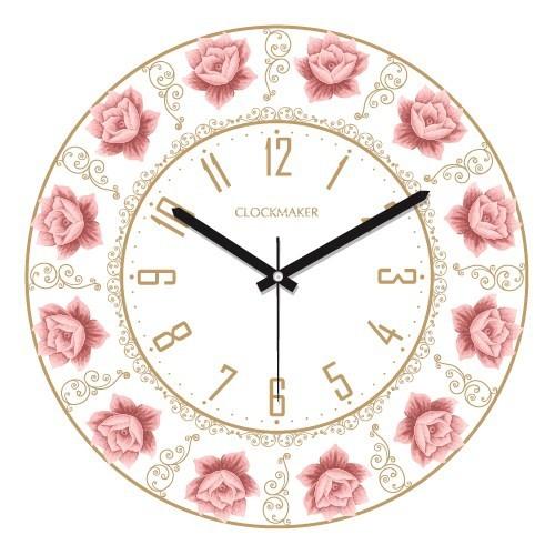 Clockmaker By Cadran 30X30 Mdf Duvar Saati Cmm117