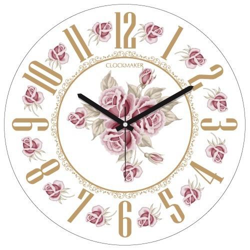 Clockmaker By Cadran 30X30 Mdf Duvar Saati Cmm119