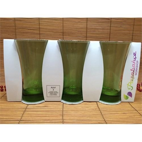 Paşabahçe Bardak Azur 3 Lü Su Bardağı - Meşrubat Bardağı